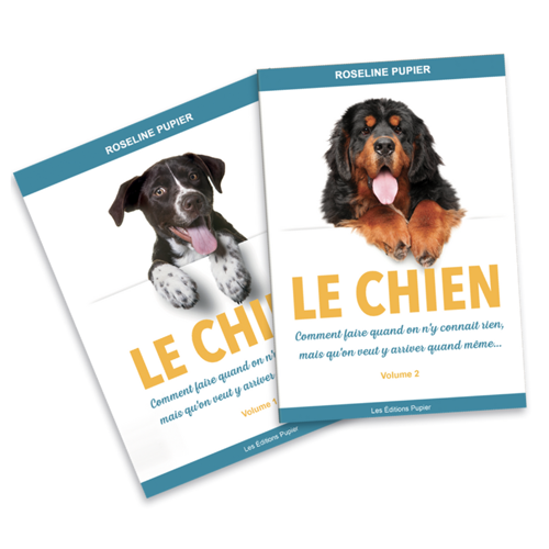 "LOT VOLUME 1+ 2 - ""Le chien : comment faire..."""